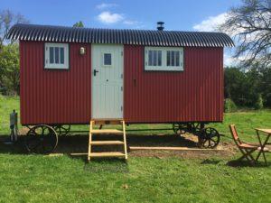Thyme Shepherd Hut, Boundary Farm