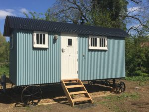 Sage Shepherd Hut, Boundary Farm