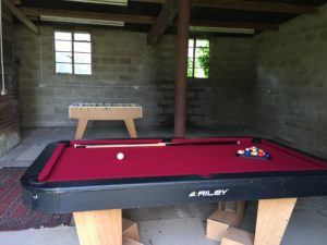 Games shed, Boundary Farm Cottages